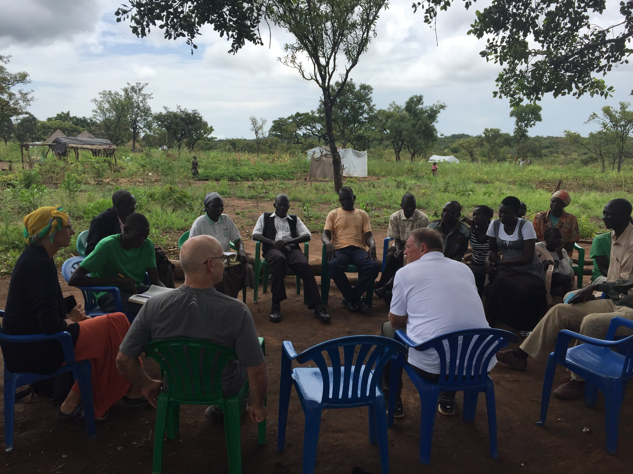 Exhorting & listening to the needs of South Sudanese pastors