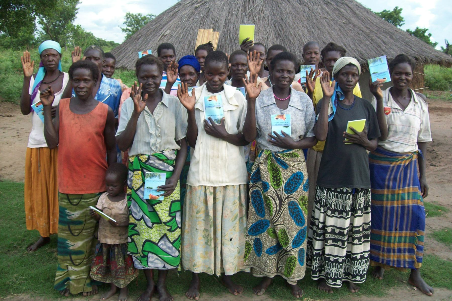 Women's group learning to live positively with AIDS