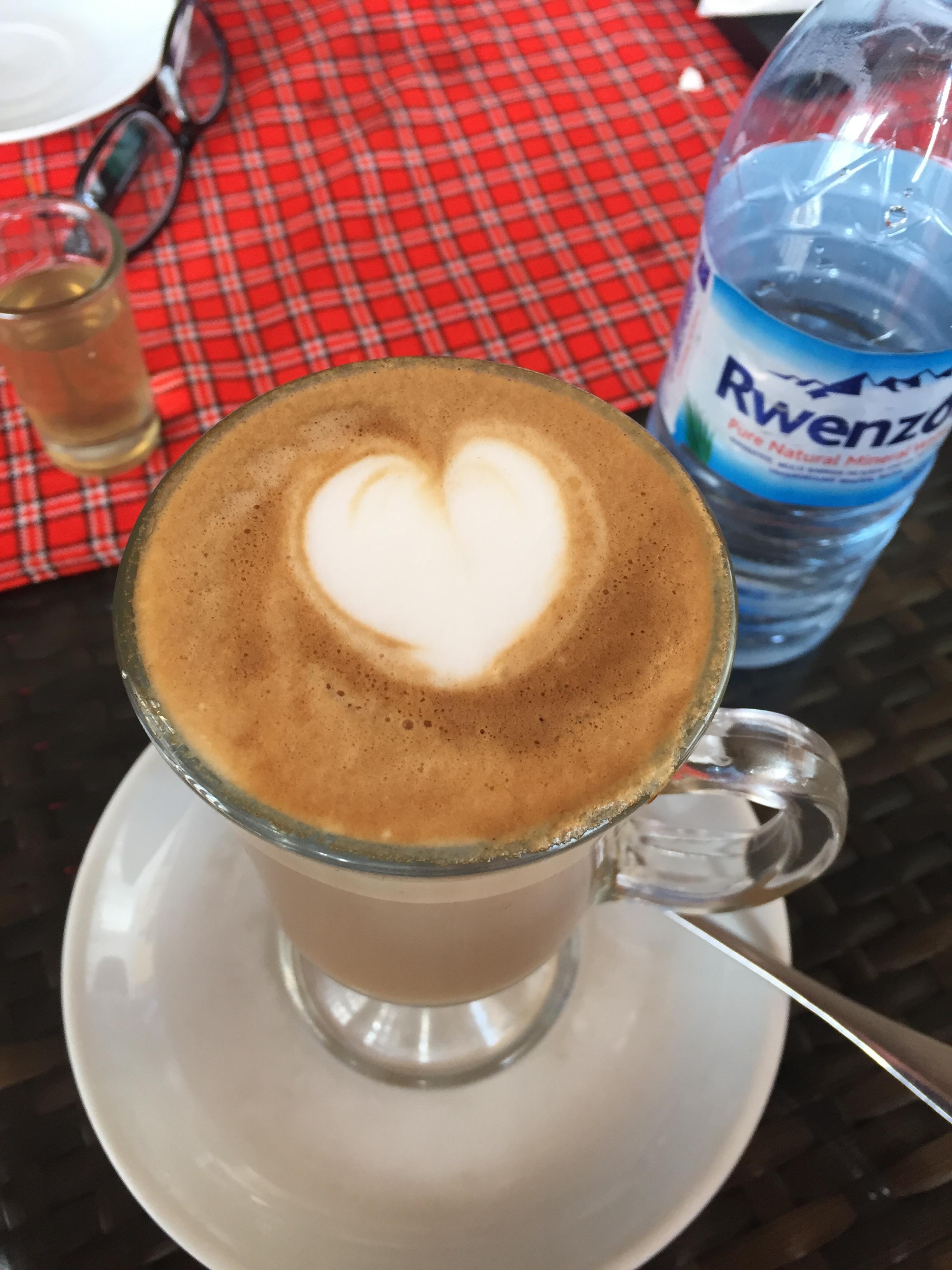 Amazing Lattes in Kampala