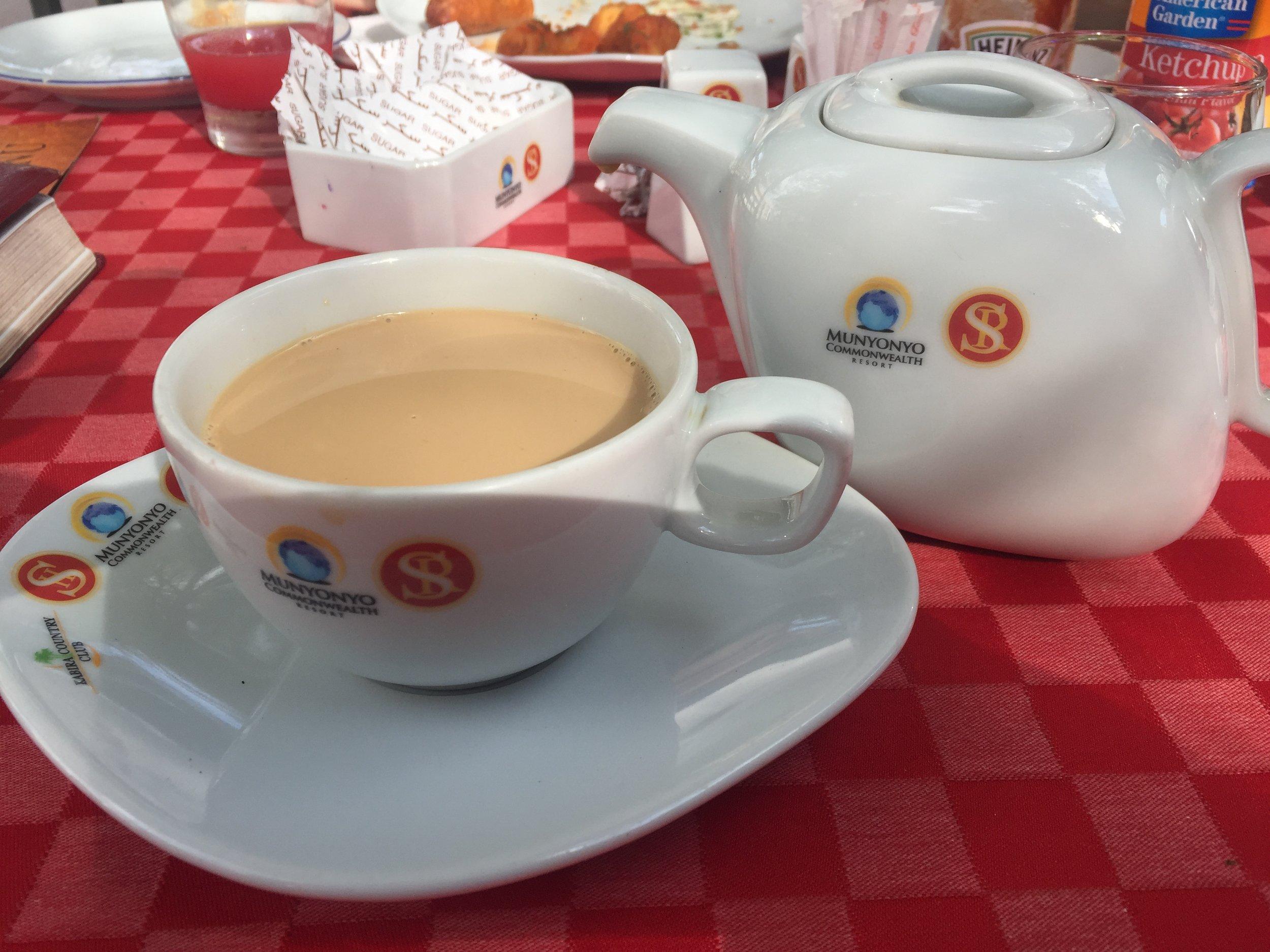 High Tea in Kampala