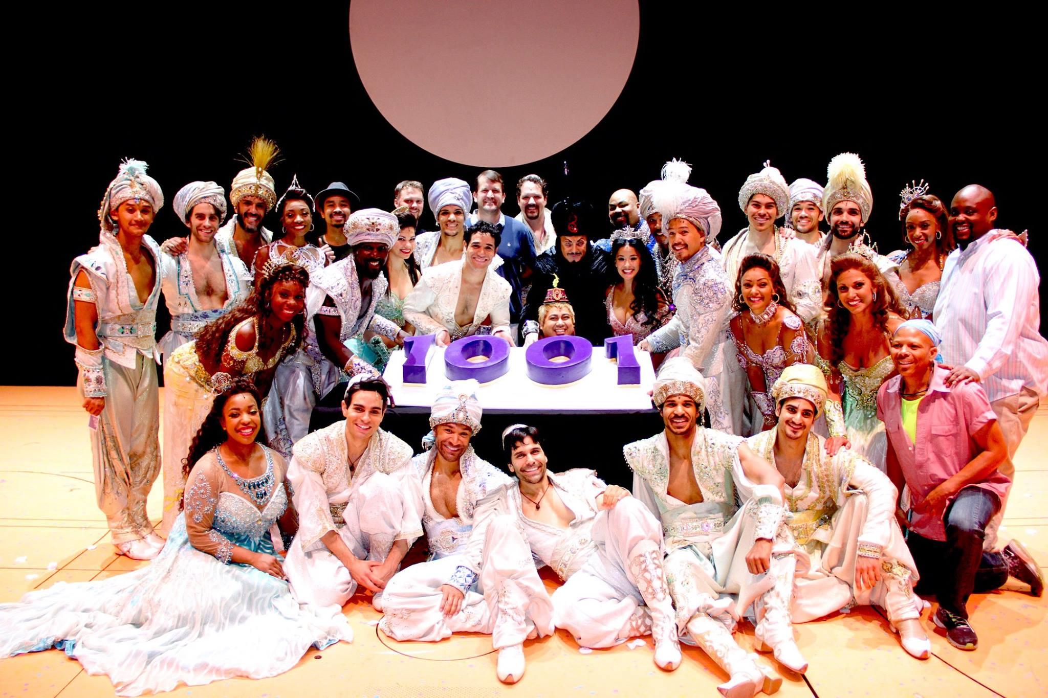 Disney's Aladdin on Broadway ,New Amsterdam Theatre