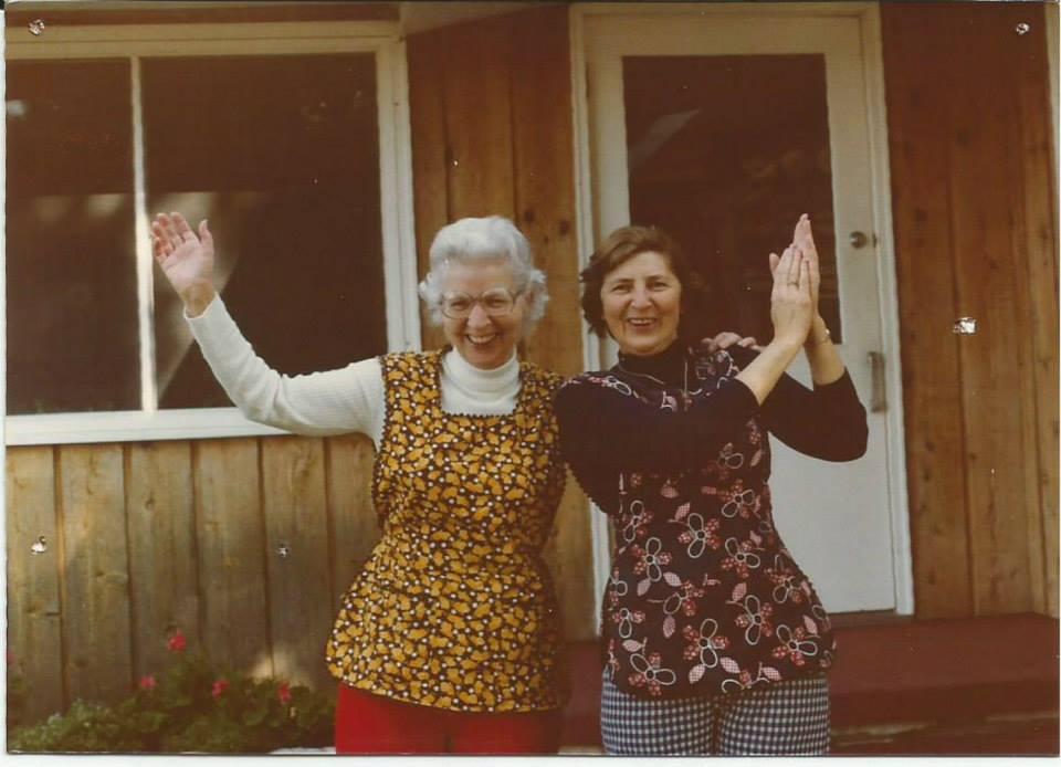 Maxine Engstrom & Lois Hagen