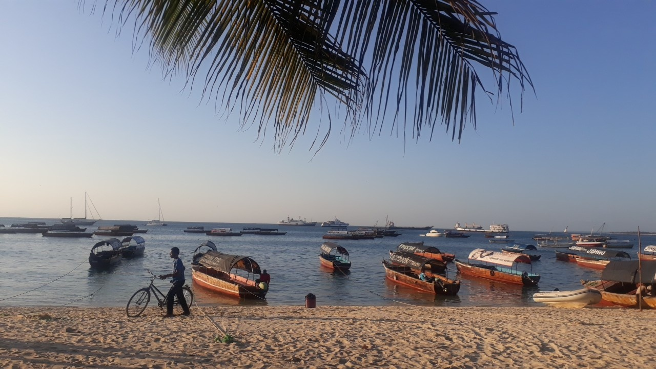 Matkalta paratiisisaari Zanzibarille.