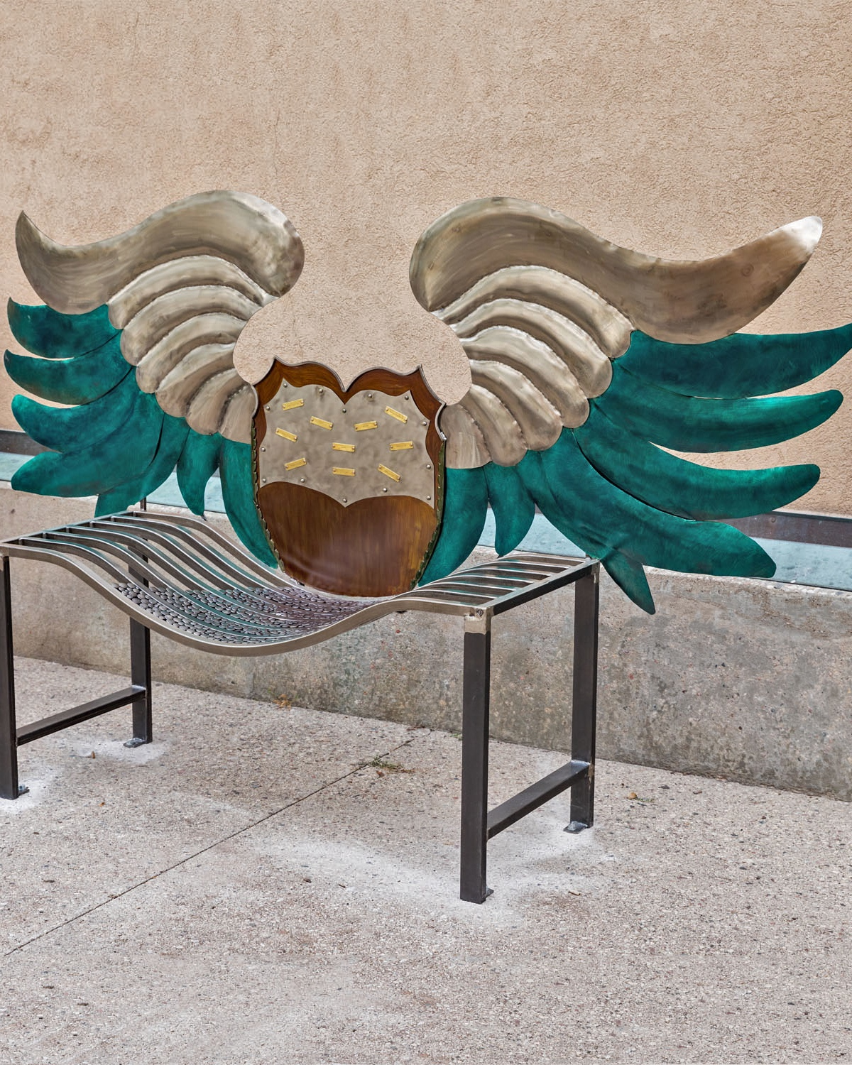 Wing Meditation Bench