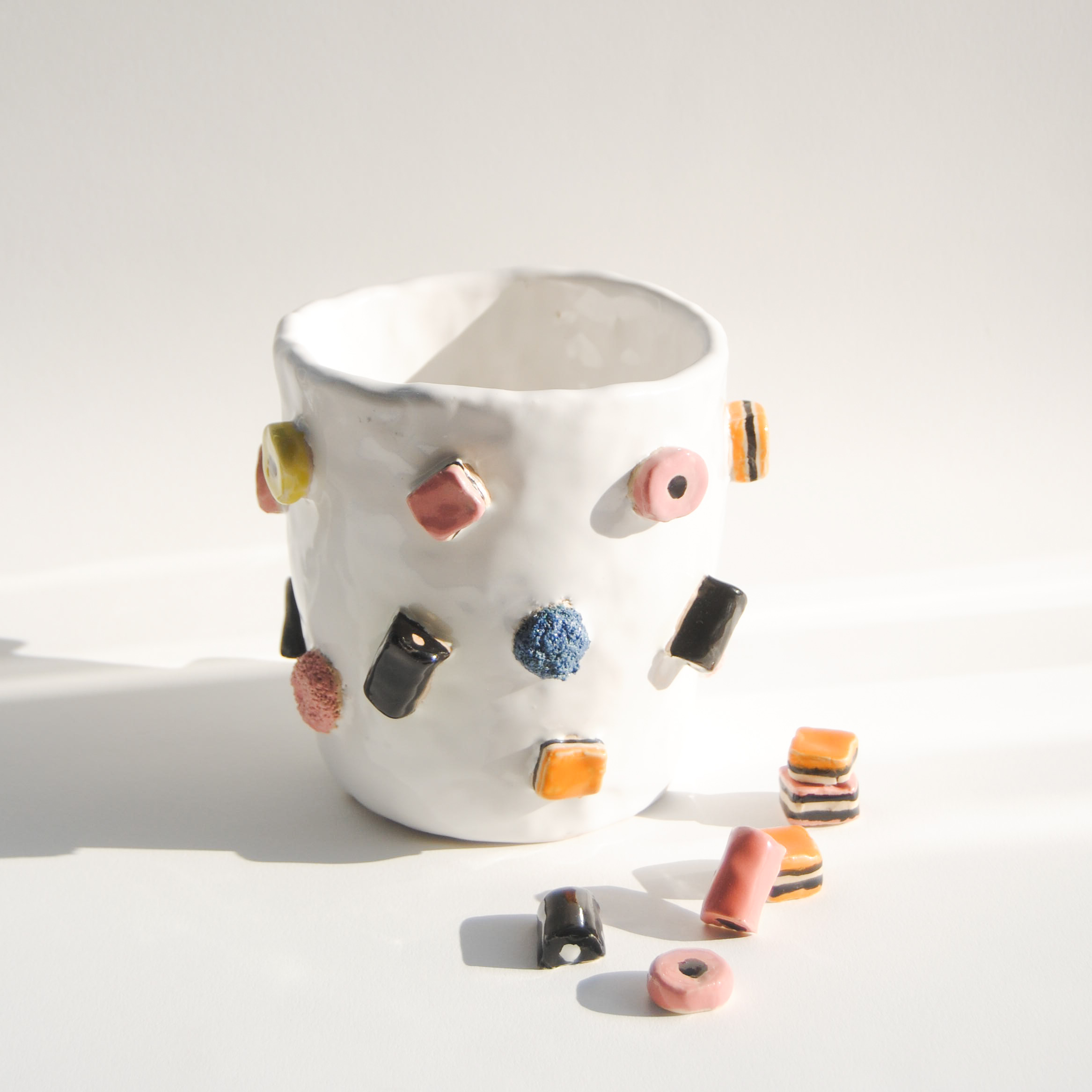 Liquorice Allsorts vase