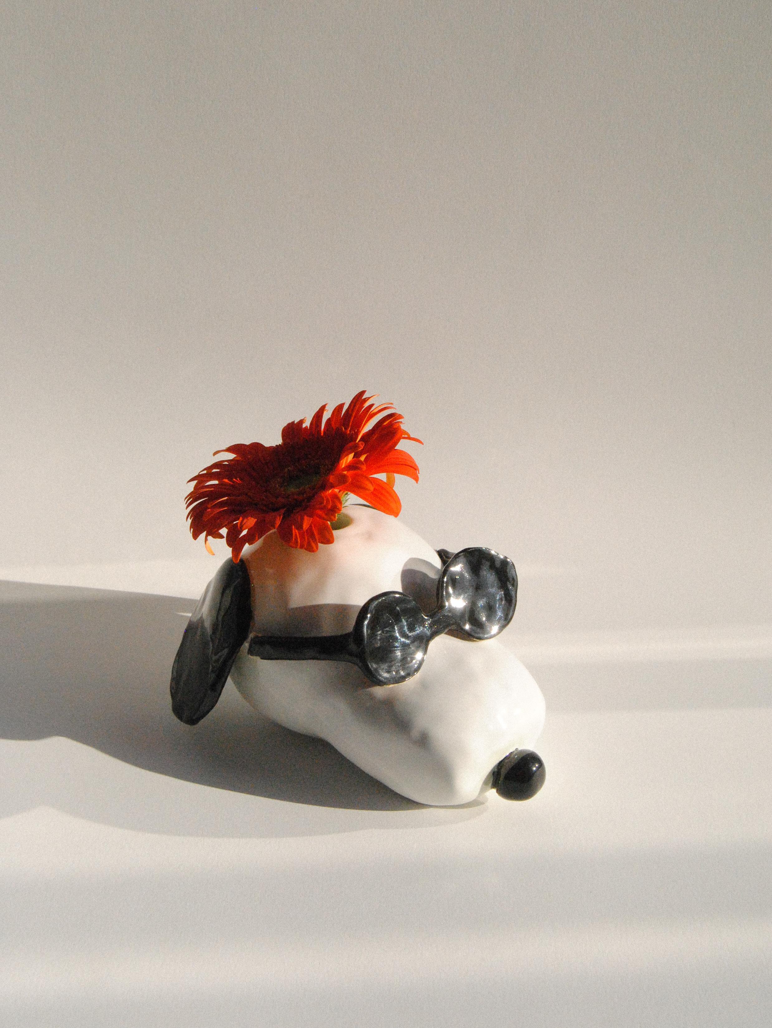 Snoopy vase