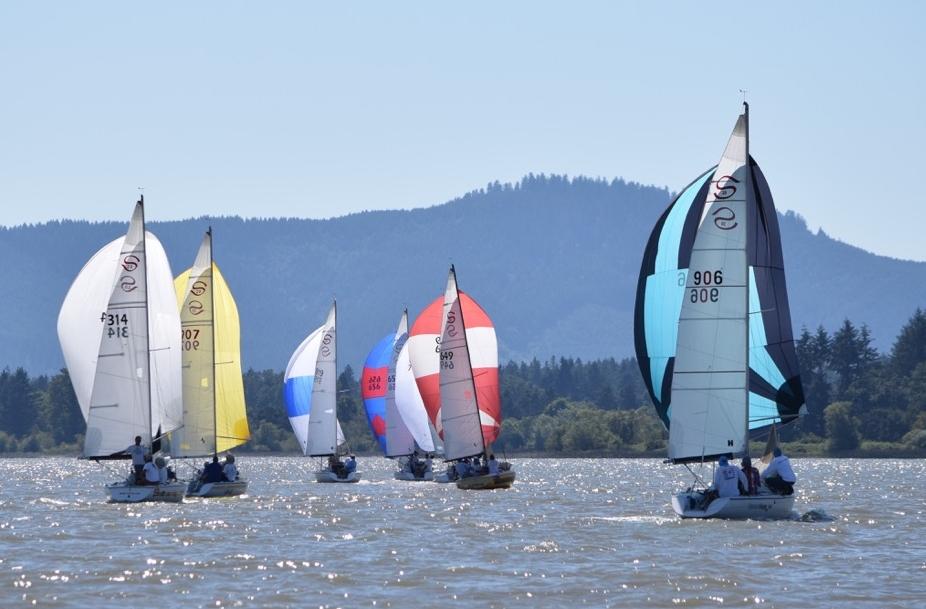 Santana 20s 2019 Class Championship regatta Triton Emerald Regatta