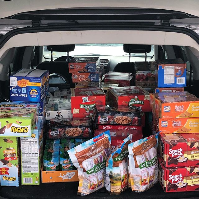 @lyndsey.laborde  and FWBHS we heard your call to stock the pantry!! We are on the way! #VAKA #nohungrykids #localsservinglocals