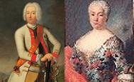 Adolf Friedrich Graf von der Schulenburg und Anna Adelheid von Bartensleben