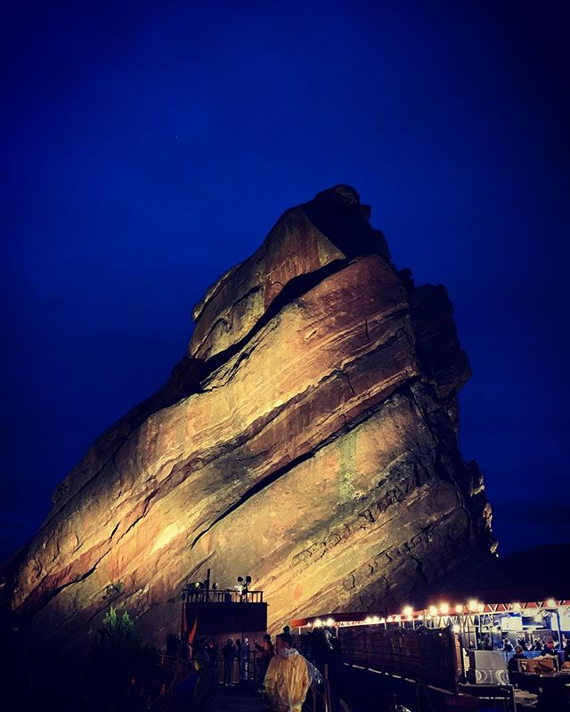 Until next time ✌🏼#Colorado ! #redrocks #redrocksamphitheater #denver #travel #summer #concert #tourist #wander #sky #lookup #turkuaz