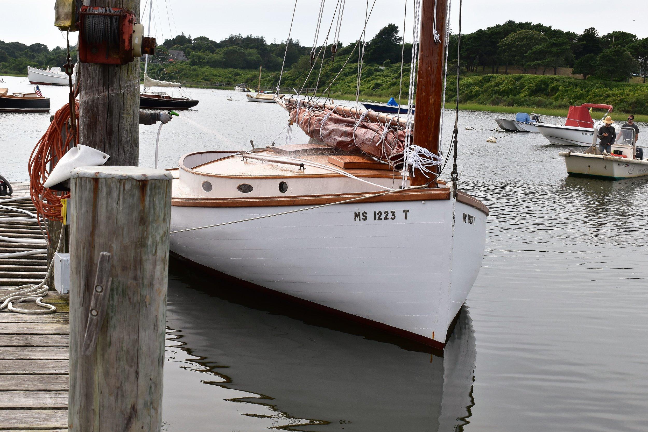 Sea Hound - 1910 Crosby Catboat