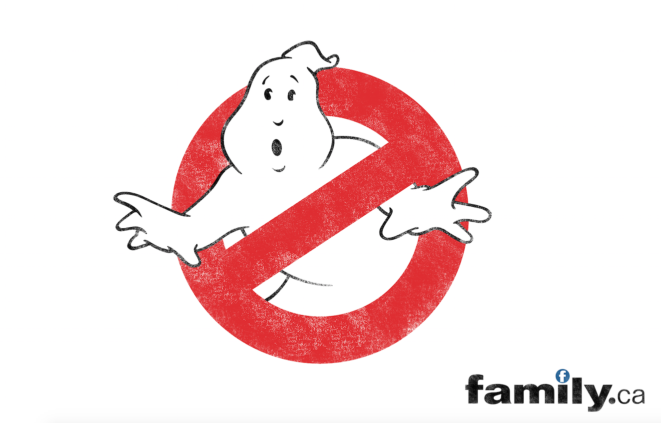 Family Channel's Ghostbusters 2016 Promotion
