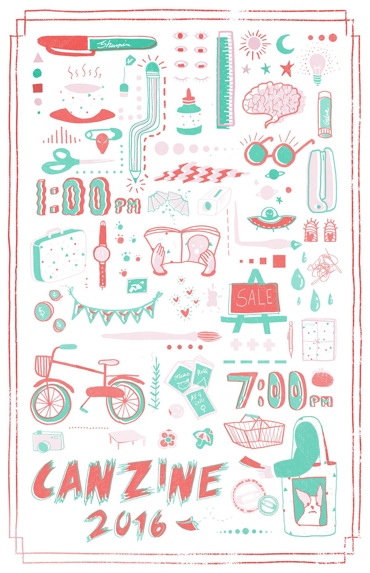 Canzine 2016 Poster