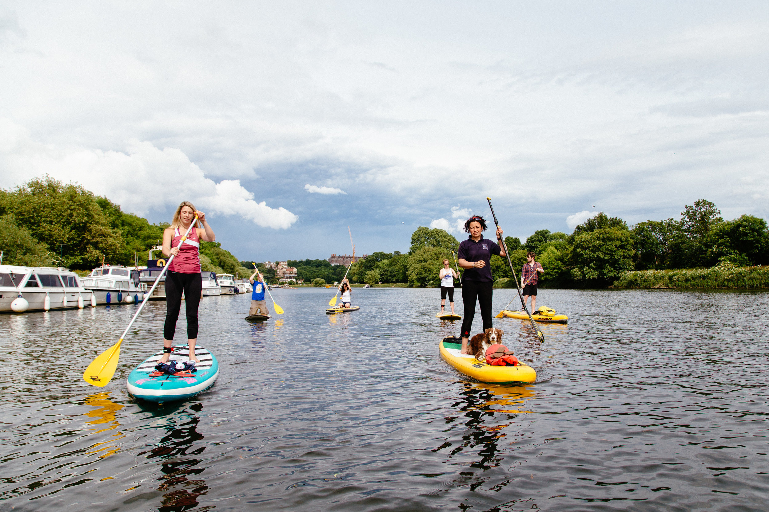 Stand Up Paddleboarding in Richmond