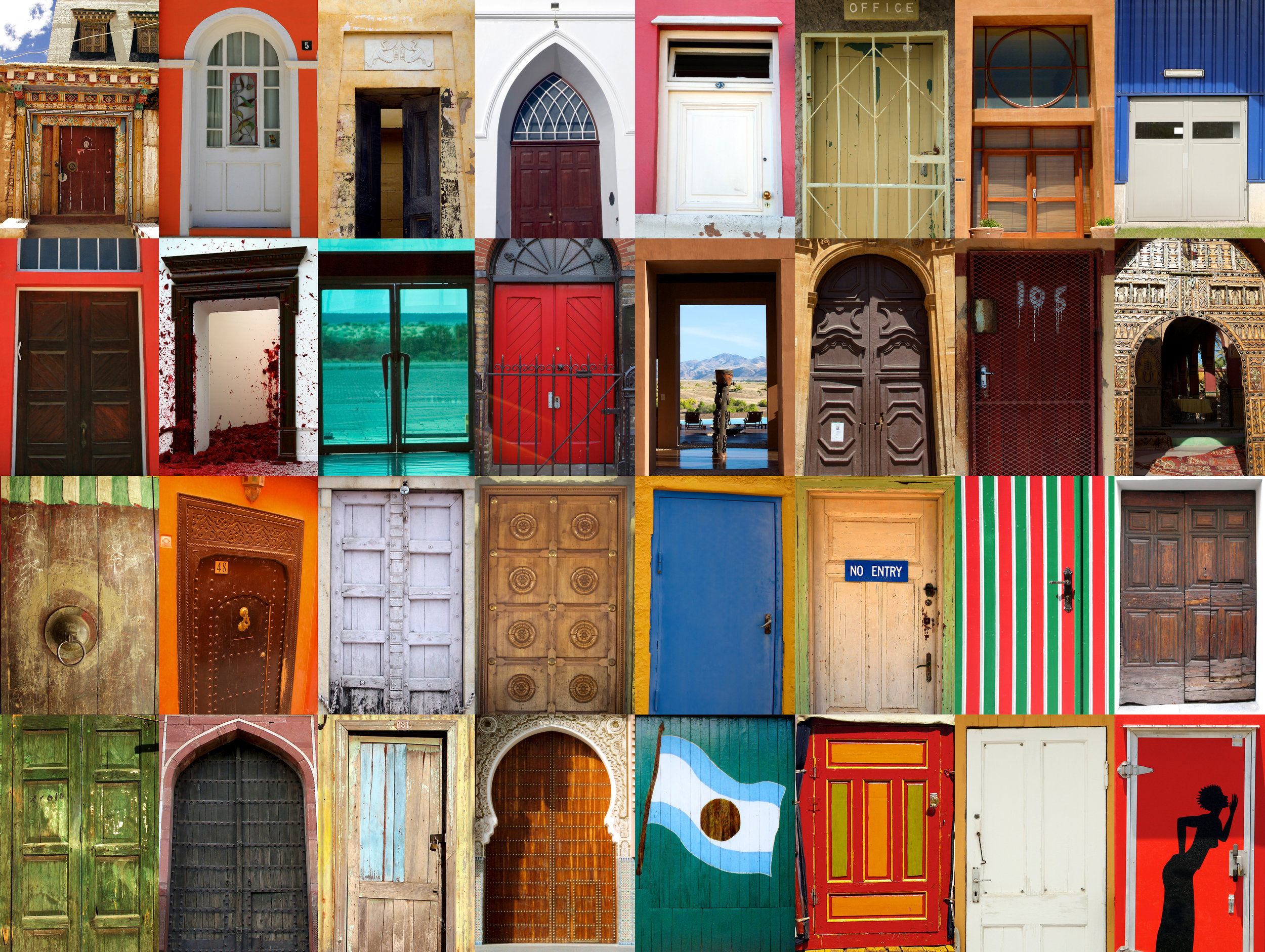 Photo: Doors to the World