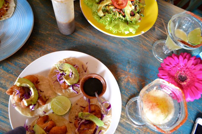 Shrimp Tacos from Cactus