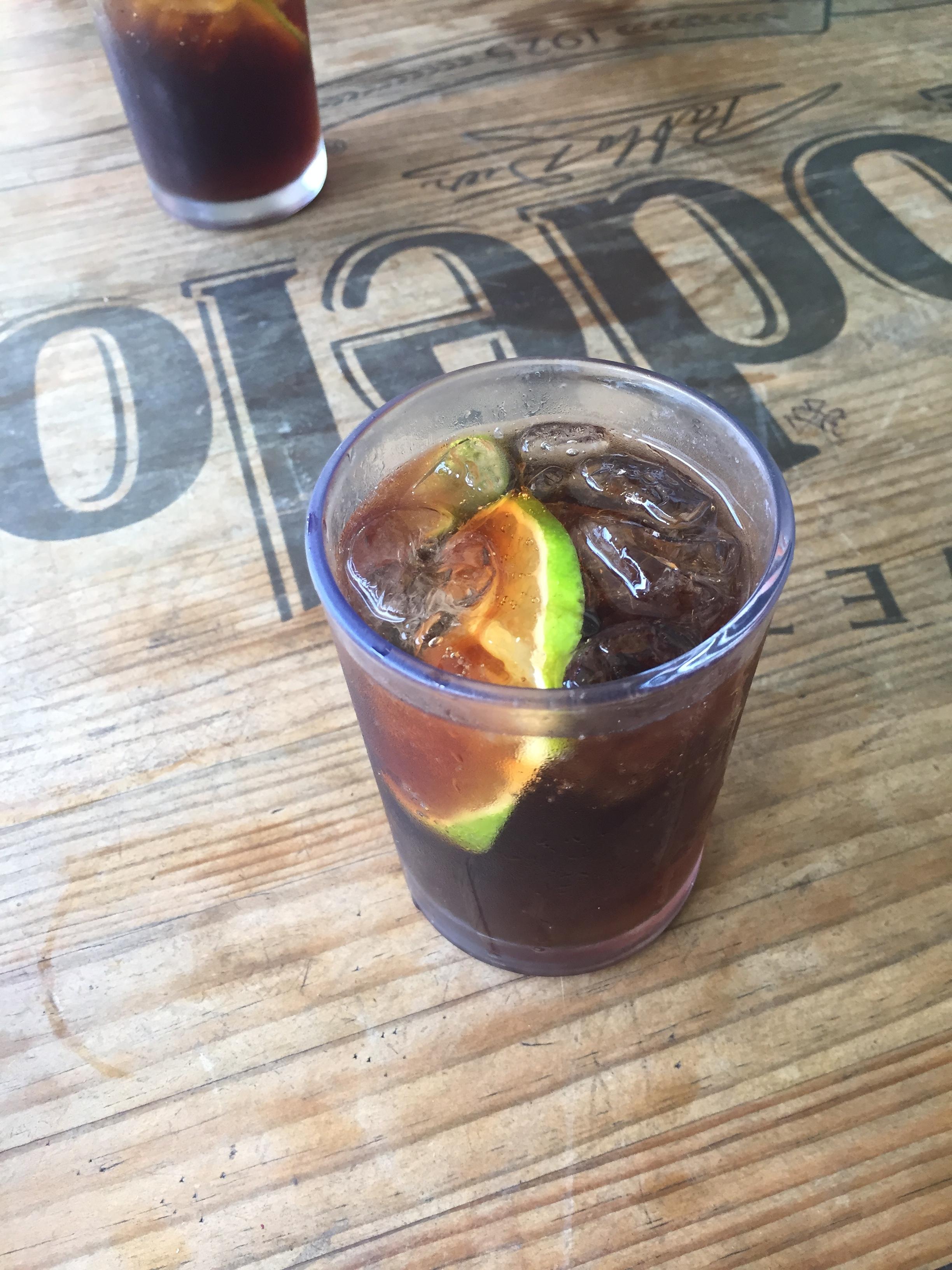 $2 Refreshing Cuba Libre