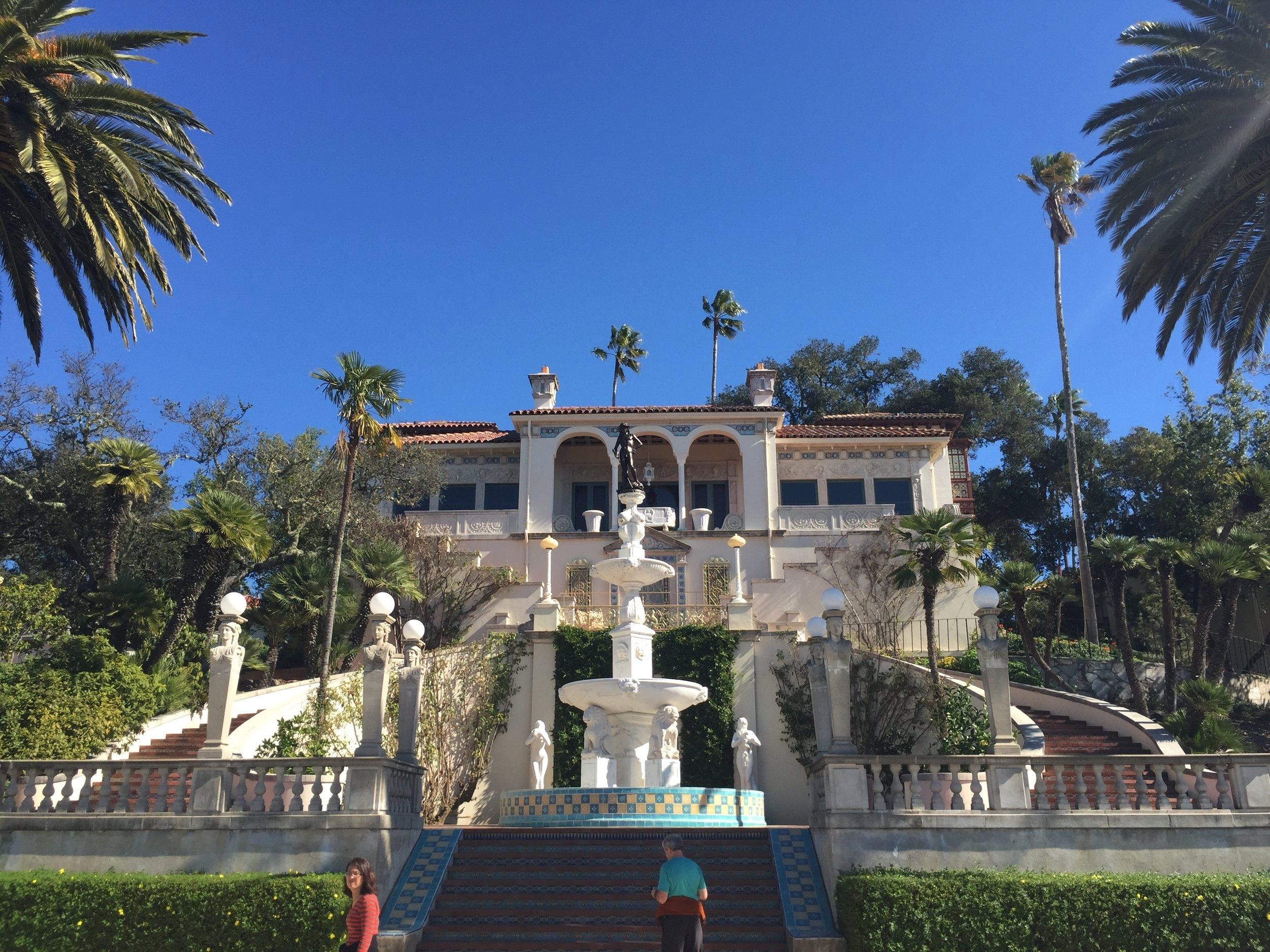 Guest House at Hearst Castle