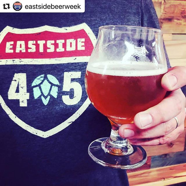 Have you guys heard about @eastsidebeerweek?? Repping their awesome merch acts as your passport to deals at breweries on the eastside!! I love their logo 😍 check out their page for the details!