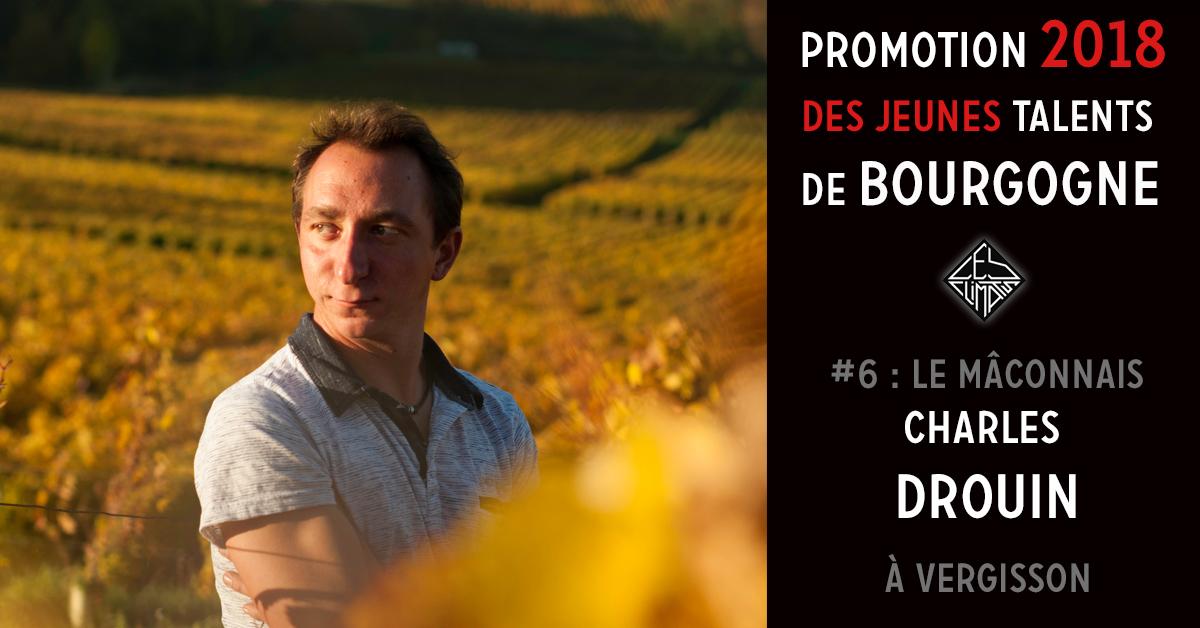 Charles a rejoint son père Thierry en 2013 sur son domaine créé en 1981 sur la commune de Vergisson dans le Mâconnais. Au coeur du grand site de Solutré_Pouilly-Vergisson, le domaine est situé dans un ancien lagon adossé au Morvan. Il est constitué de 7 ha de Pouilly Fuissé, 3 ha de Mâcon blanc et 60 ares de Saint-Véran. Trois types de sols se distinguent : les éboulis calcaires, les calcaires et les argiles. Chaque sol confère aux vins des caractéristiques bien distinctes. Aujourd'hui Charles vinifie seul les différentes cuvées sous l'oeil bienveillant de son père. Ils travaillent ensemble la vigne en lutte raisonnée et mettent en oeuvre une viticulture respectueuse de son environnement avec un travail manuel et minutieux pour faire ressortir le meilleur de leurs terroirs et produire des vins élégants, riches et équilibrés.
