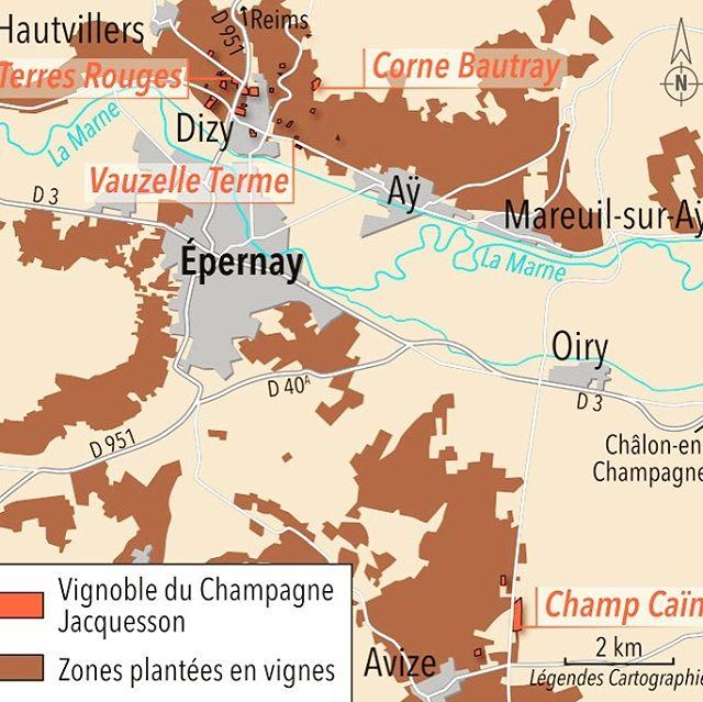 Nous sommes dans les starting-blocks pour la dégustation Champagne JACQUESSON avec Jean-Hervé CHIQUET ce soir ! 😍🥂🍾🙃 .  Au programme : Cuvée N° 741 ⎜Cuvée N° 742 ⎜ Cuvée N° 737 DT⎜Cuvée N° 736 DT ⎜DIZY - Corne Bautray /Récolte 2008 ⎜ AVIZE - Champ Caïn / Récolte 2008 ❤️❤️❤️ . Du coup hop, on partage la cartographie des Vignobles JACQUESSON envoyée par Jean-Hervé himself 🔎😉 . #ChampagneJacquesson #jacquesson #degustationvigneron #Champagne #grandvin #bio #terroir #welovewine #wineexpert #winelover#vin #wine #bubbles #tasting #winetasting #champagnetasting #winetime #winemoments #champagnemoments #winelovers #champagnelover #lesclimatsdeparis #dreamteamlesclimats #cestquedubonheur