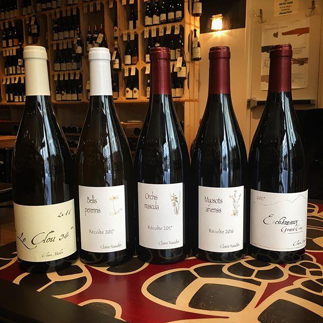 Réception des vins de Claire Naudin! Ça a du bon de travailler à l'Ascension! @clairenaudin merci! #clairenaudin #naudinferrand #magnylesvillers #aligote #chardonnay #pinotnoir