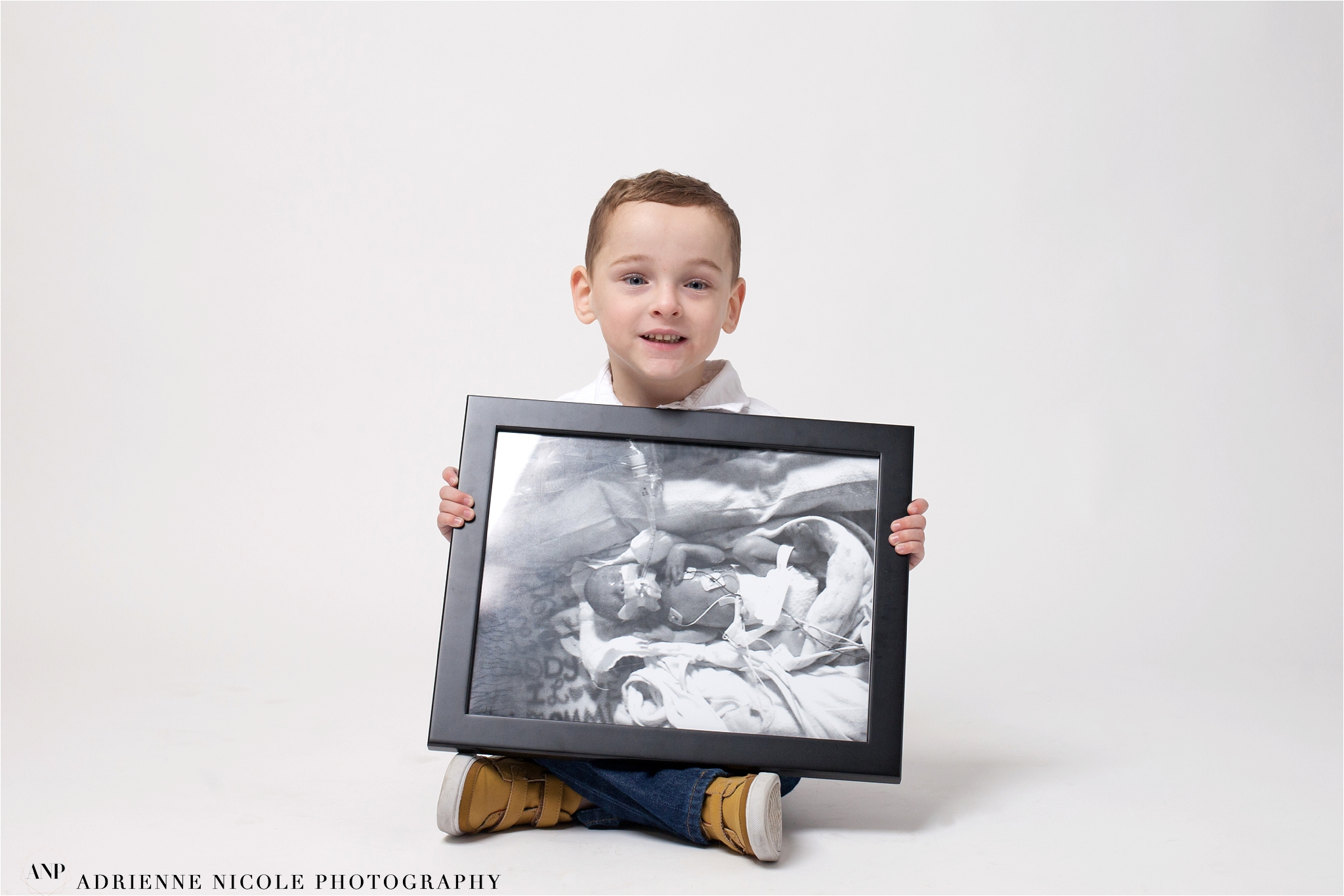 Lane 4 years old - born at 26 weeks, 1 lb 15 oz,  11 months and 3 weeks in NICU at St. Vincent and Riley Children's Hospital.
