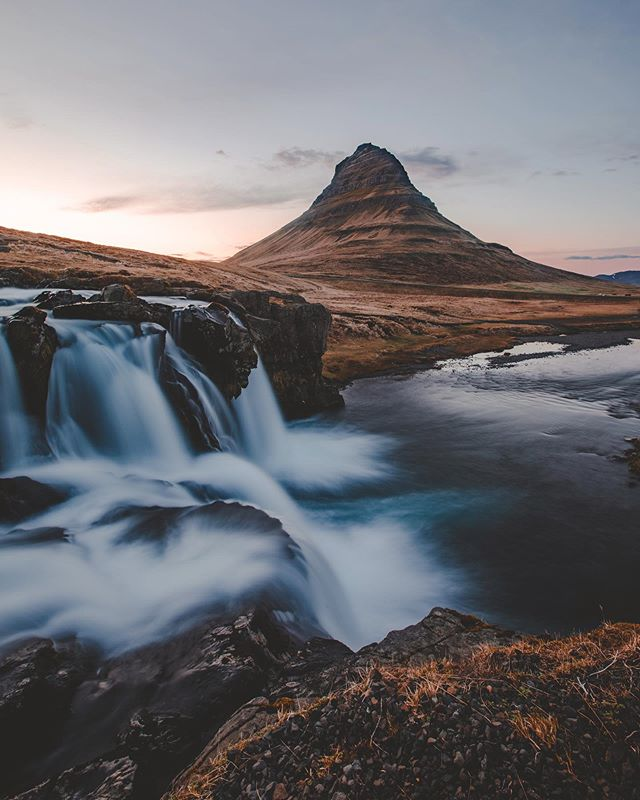 Iceland🤩✨ - - - - - - - - #iceland #wheniniceland #waterfalls #ig_shotz #igscandinavia #natgeotravel #longexpoelite #nordicphotos #destionationearth #awesomedreamplaces #show_us_nature #icelandiclandscape #naturevisuals #icelandicnature #inspiredbyiceland #folkscenery #folksouls #artofvisuals #magic #exploremore #findmagic #agameoftones #aov #stayandwander #visualsofearth #visualscollective #moodygrams #passionpassport #photooftheday #kirkjufell