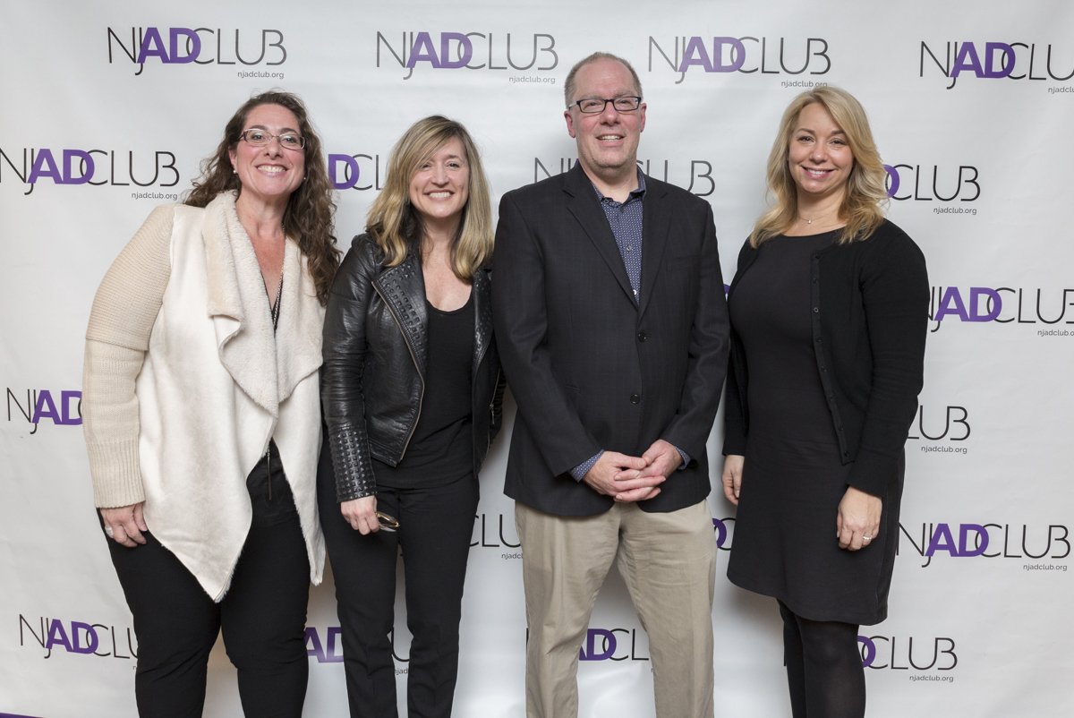 From left to right: Lara Griggs, Kat Gates, Rob Schnapp and Alison Lazzaro