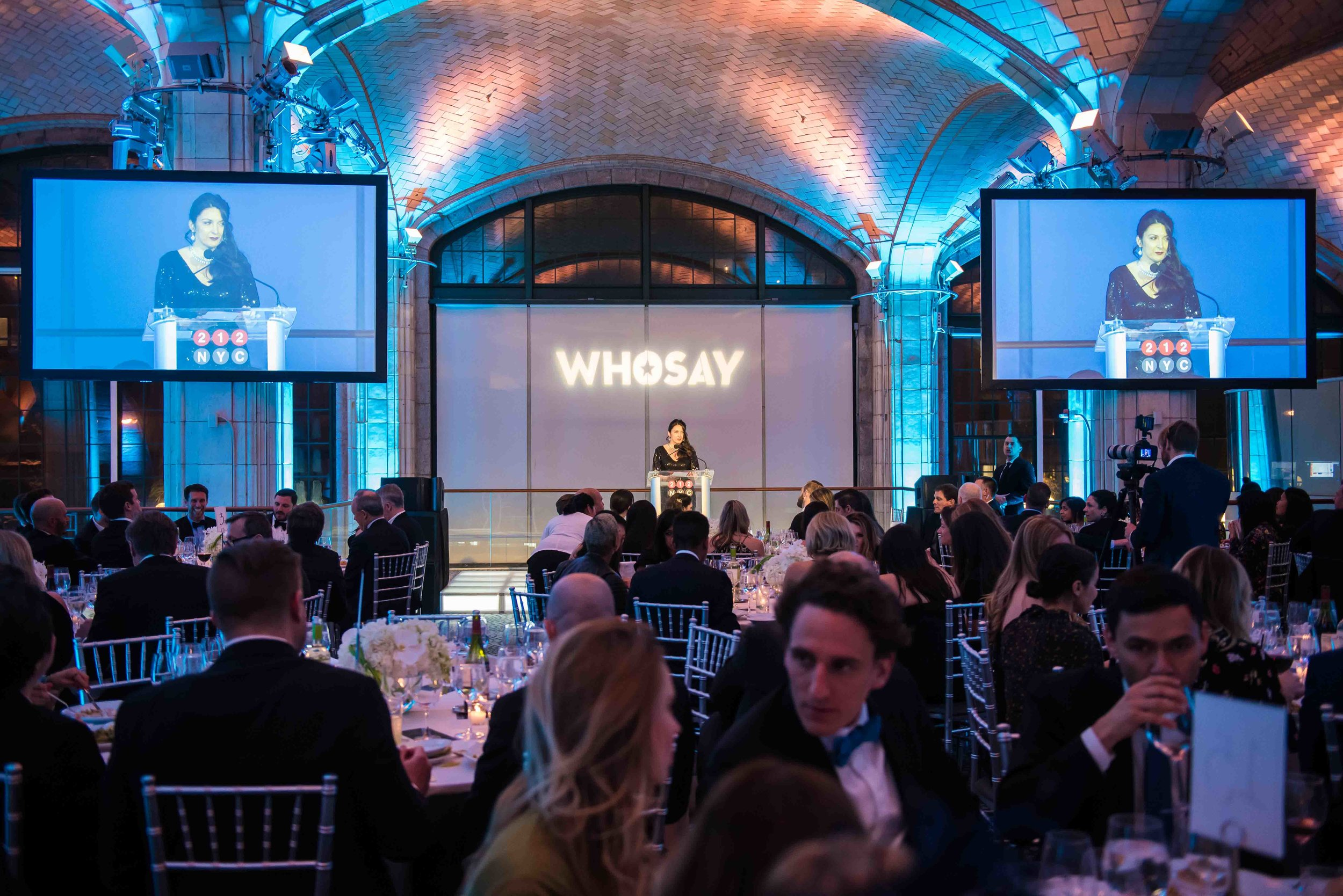 Shenan Reed,President, Chief Client Officer, Publicis Groupe, hosted the 212NYC Winter Gala 2018