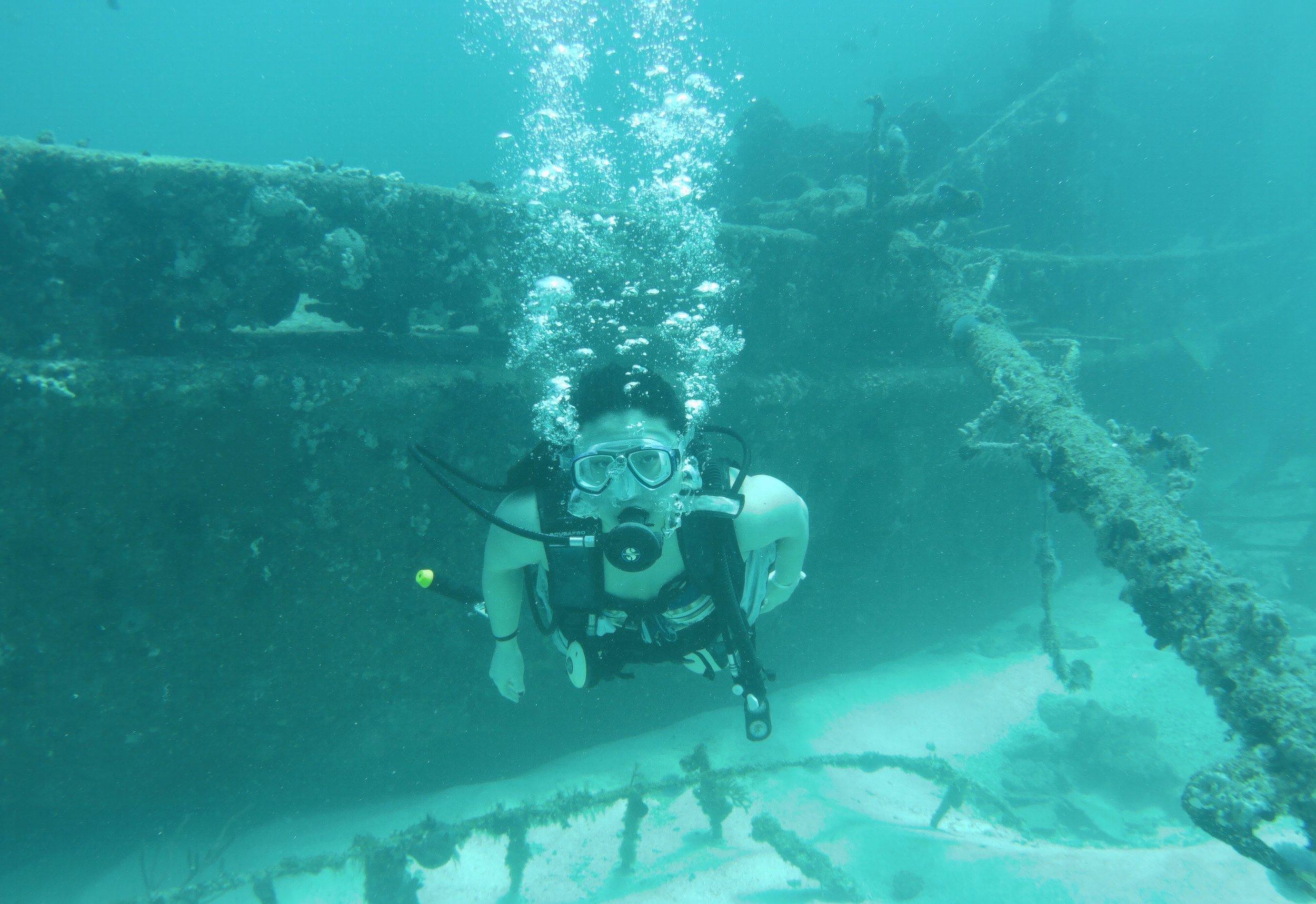 Scuba diving in Cuba 🇨🇺