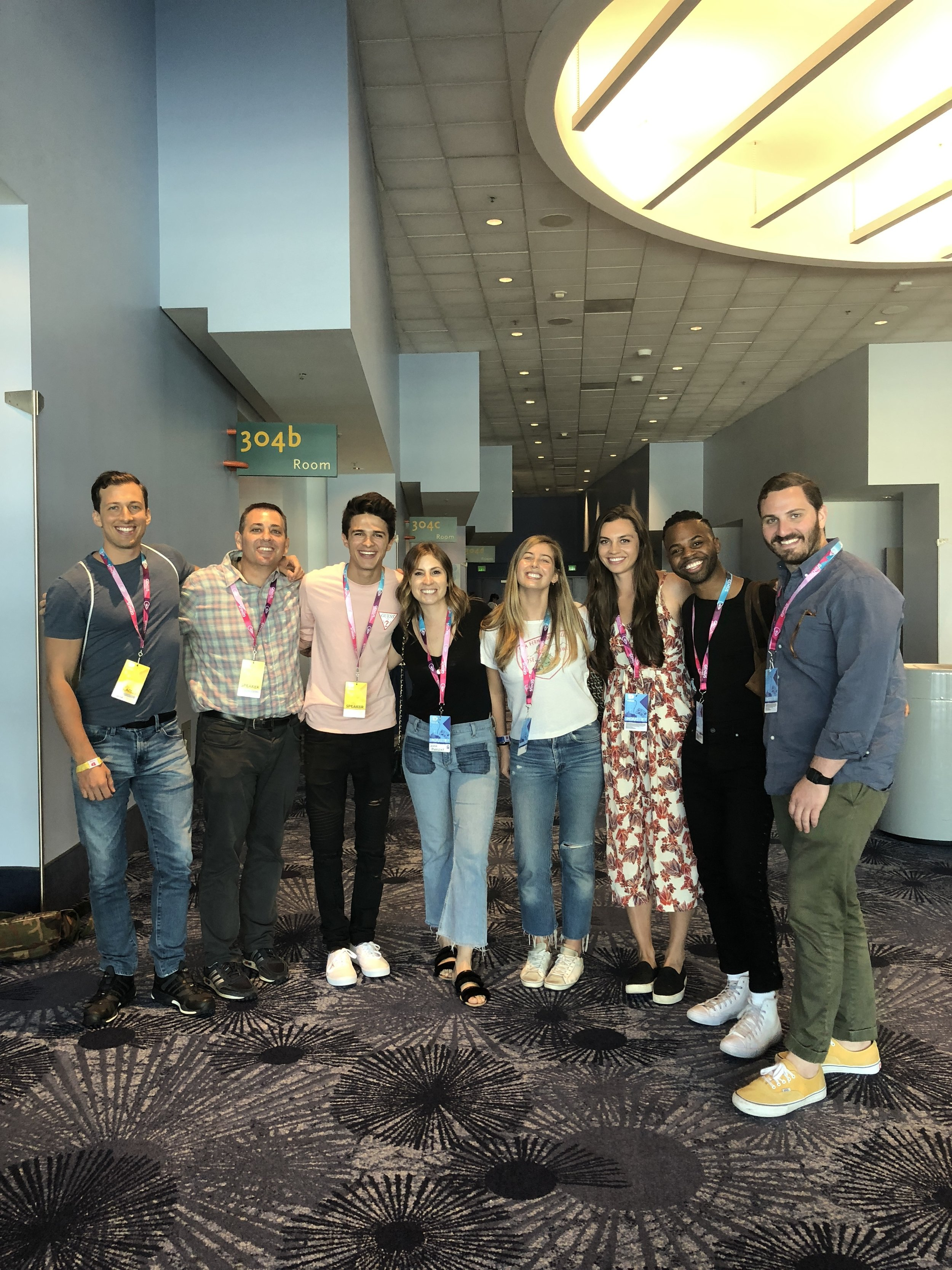 Brent Rivera and Team WHOSAY