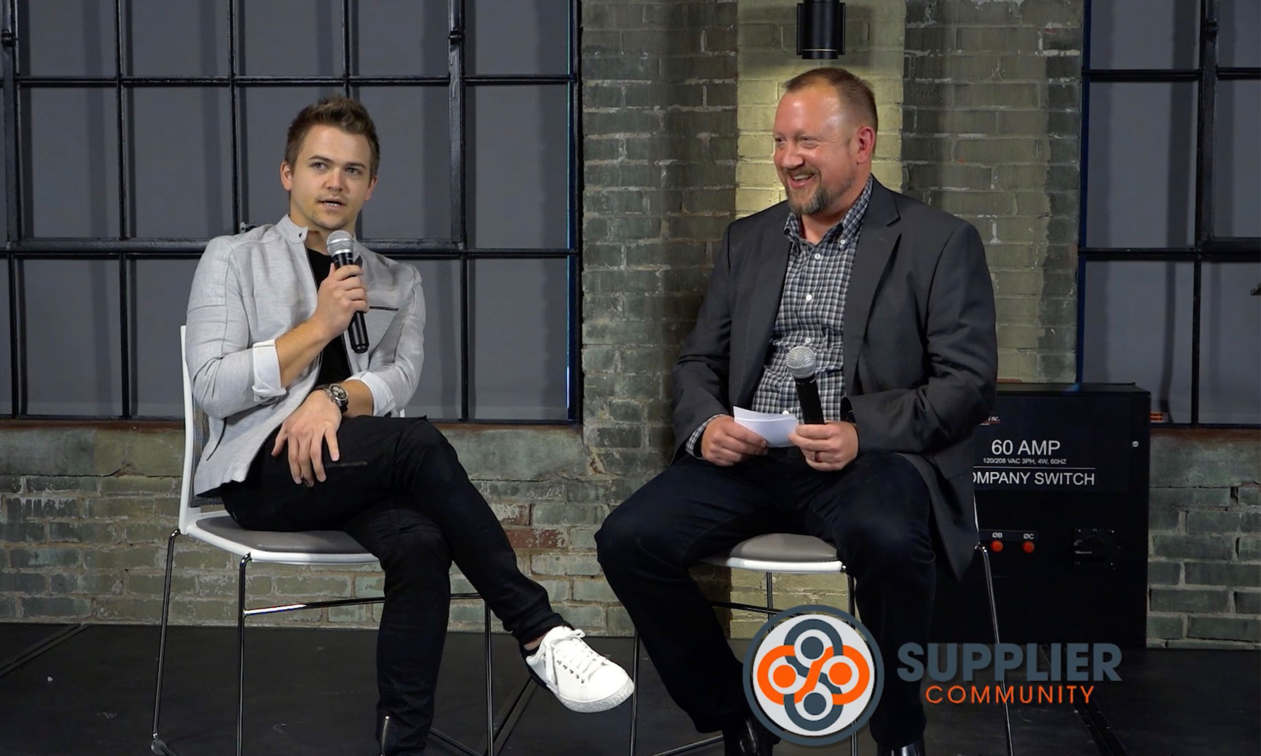 Hunter Hayes and WHOSAY's Mike Swart