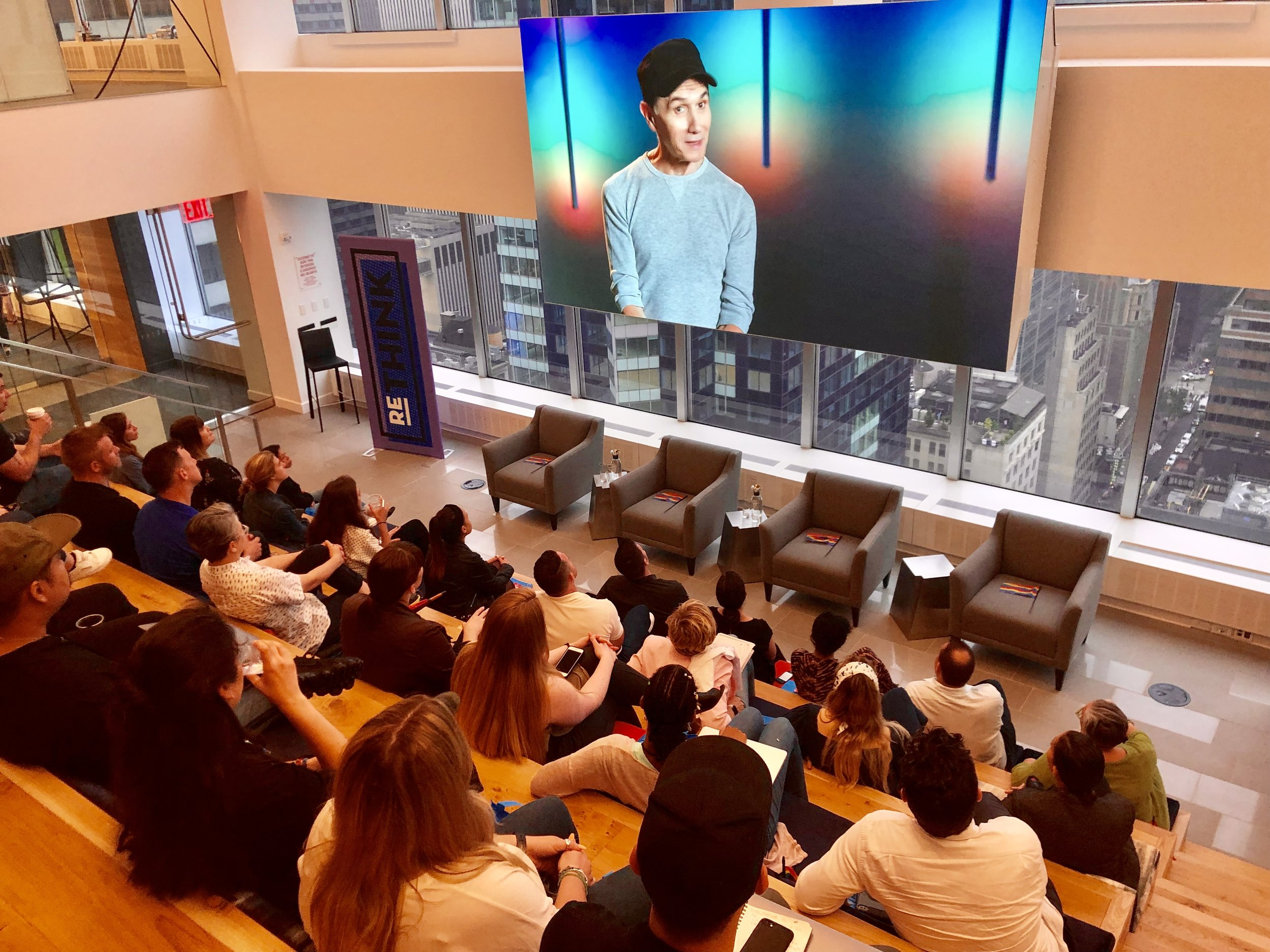 A scene from Randall's documentary 'The Diversity of Pride,' which was screened during the Pride Month edition of Viacom Ad Solutions' ReThink forum