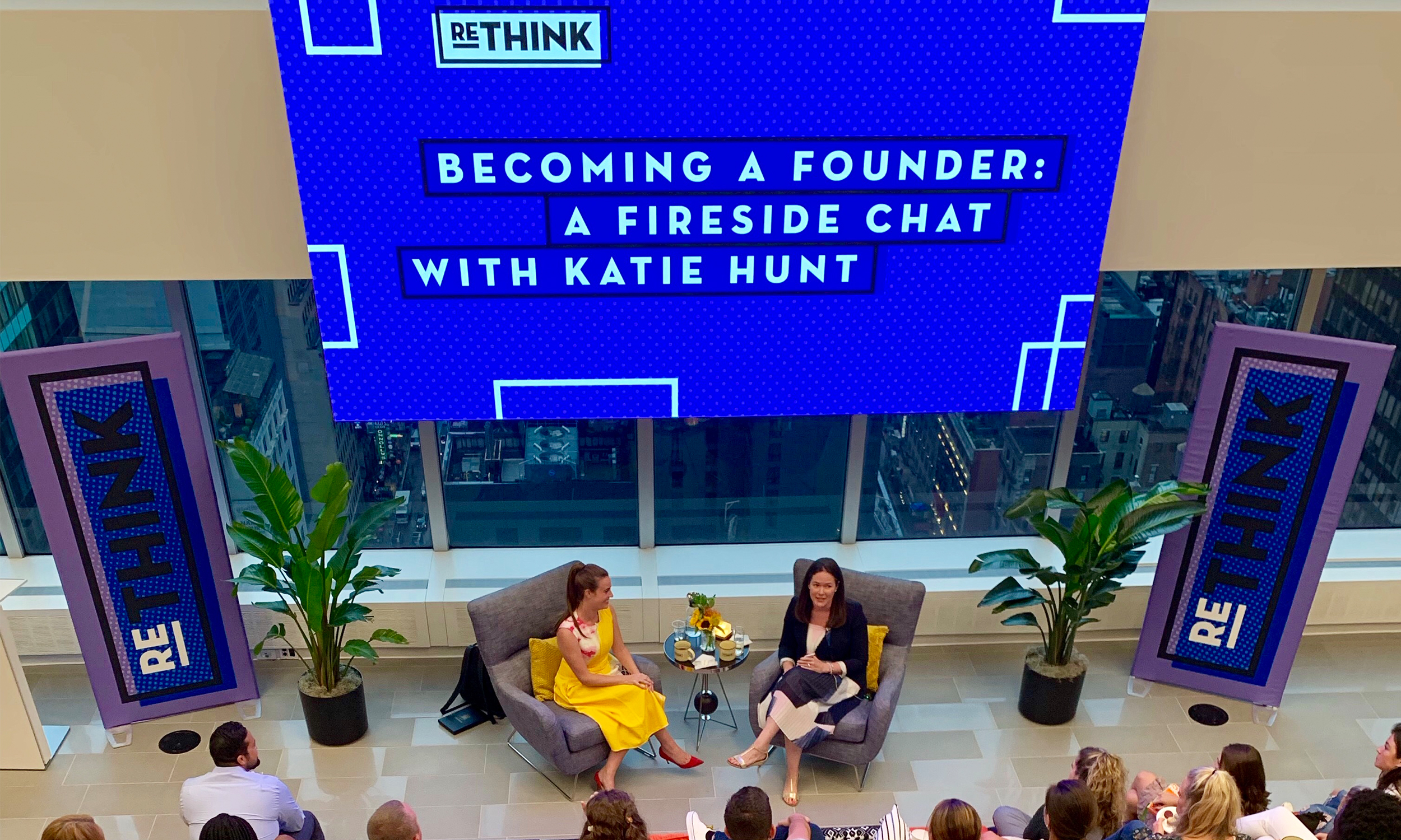 Hunt and McKee treated Viacom Ad Solutions with quite the fun and insightful fireside chat