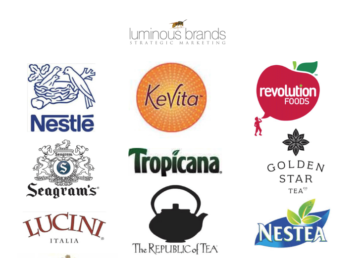 Some of the brands that Erin has helped grow.