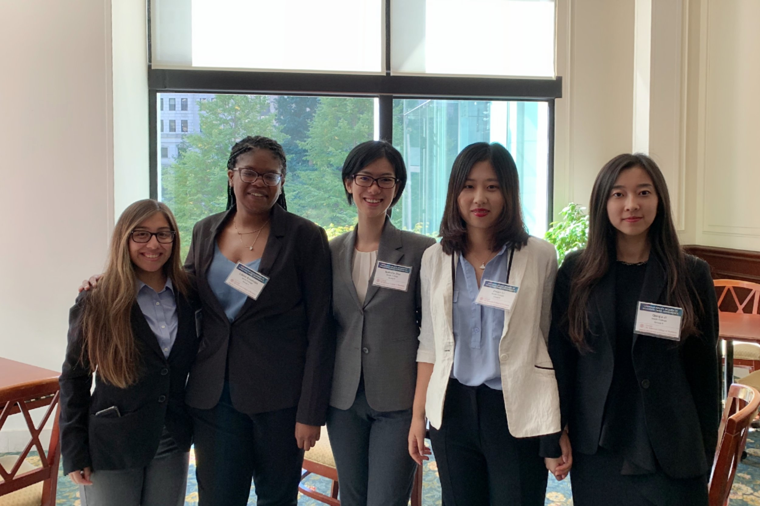 Cornell Women In Investing Conference Stock Pitch Competition, where Smith won second place (out of ten teams)!