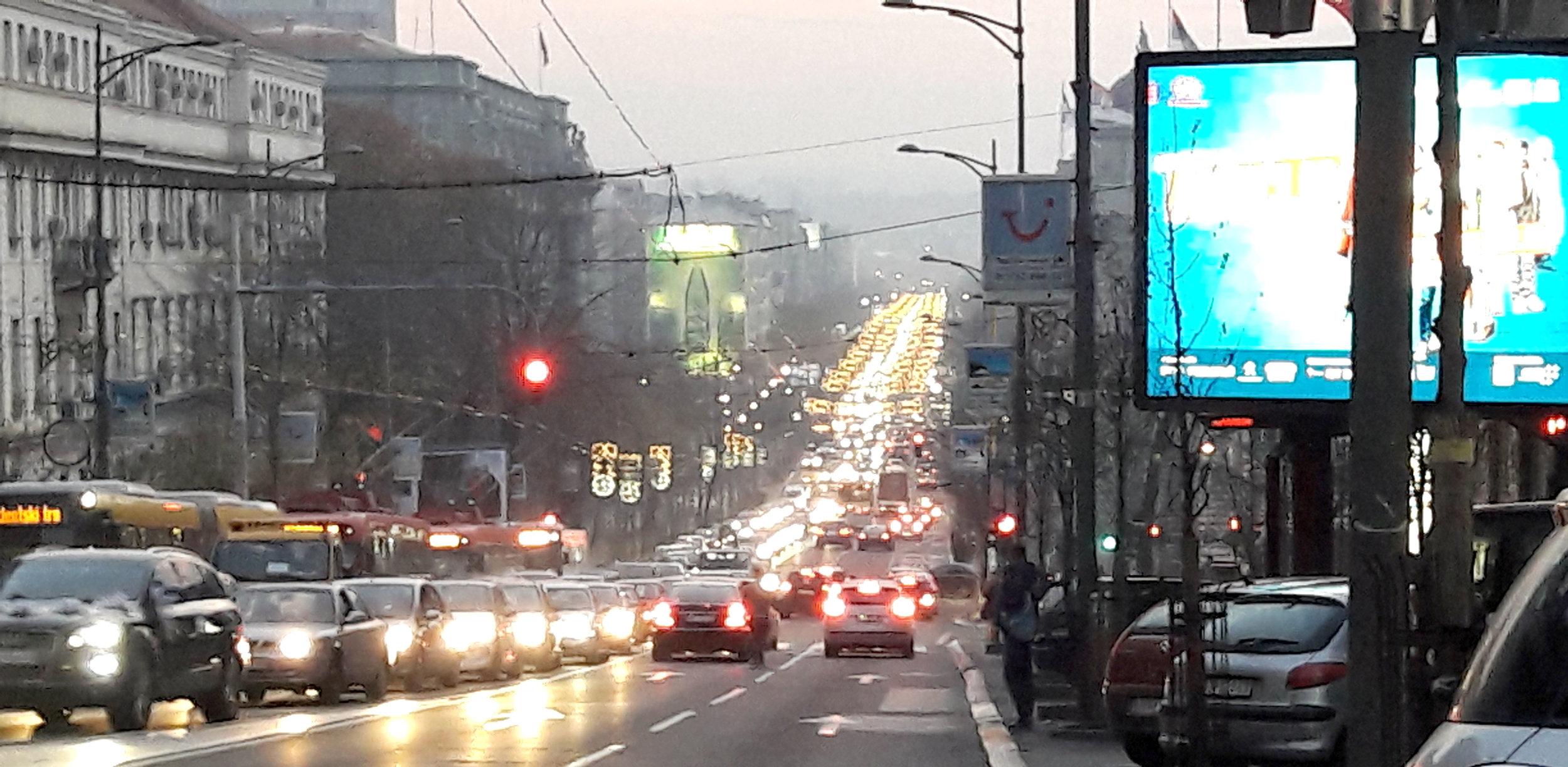 Ulica Kneza Miloša (Prince Miloš [pronounced 'Mee-losh']Street)
