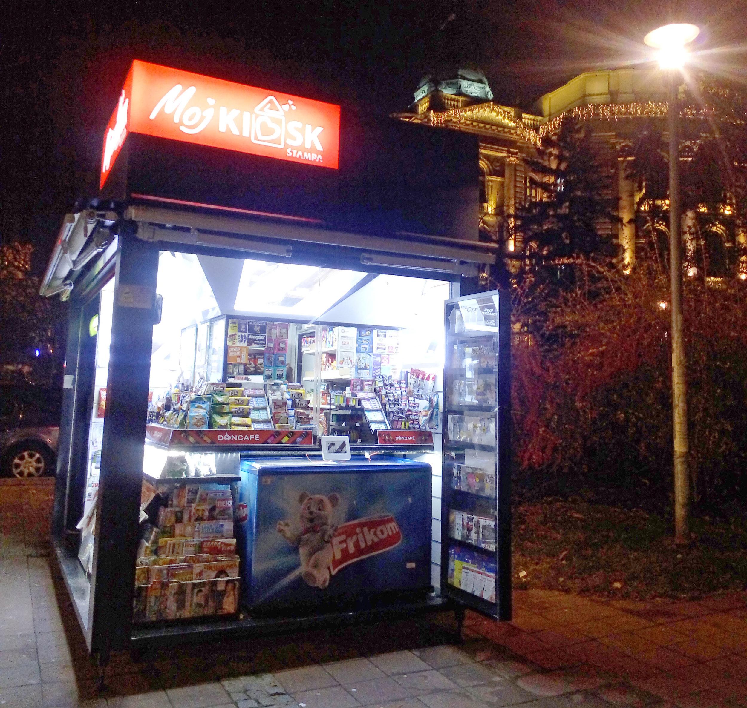 'Moj Kiosk' (My Kiosk), Belgrade