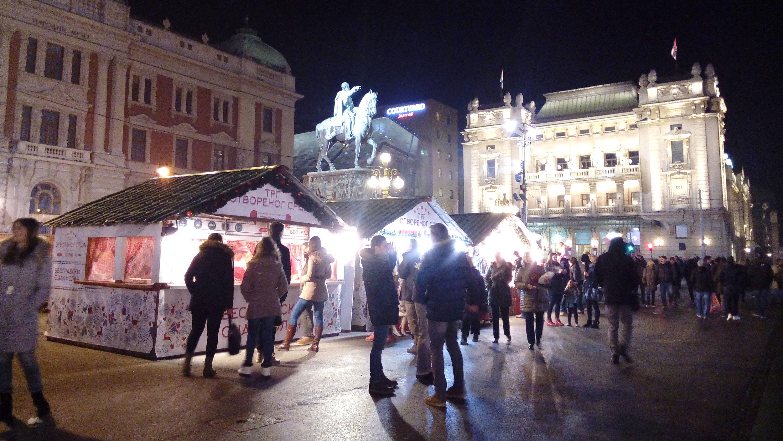 Christmas Market Belgrade