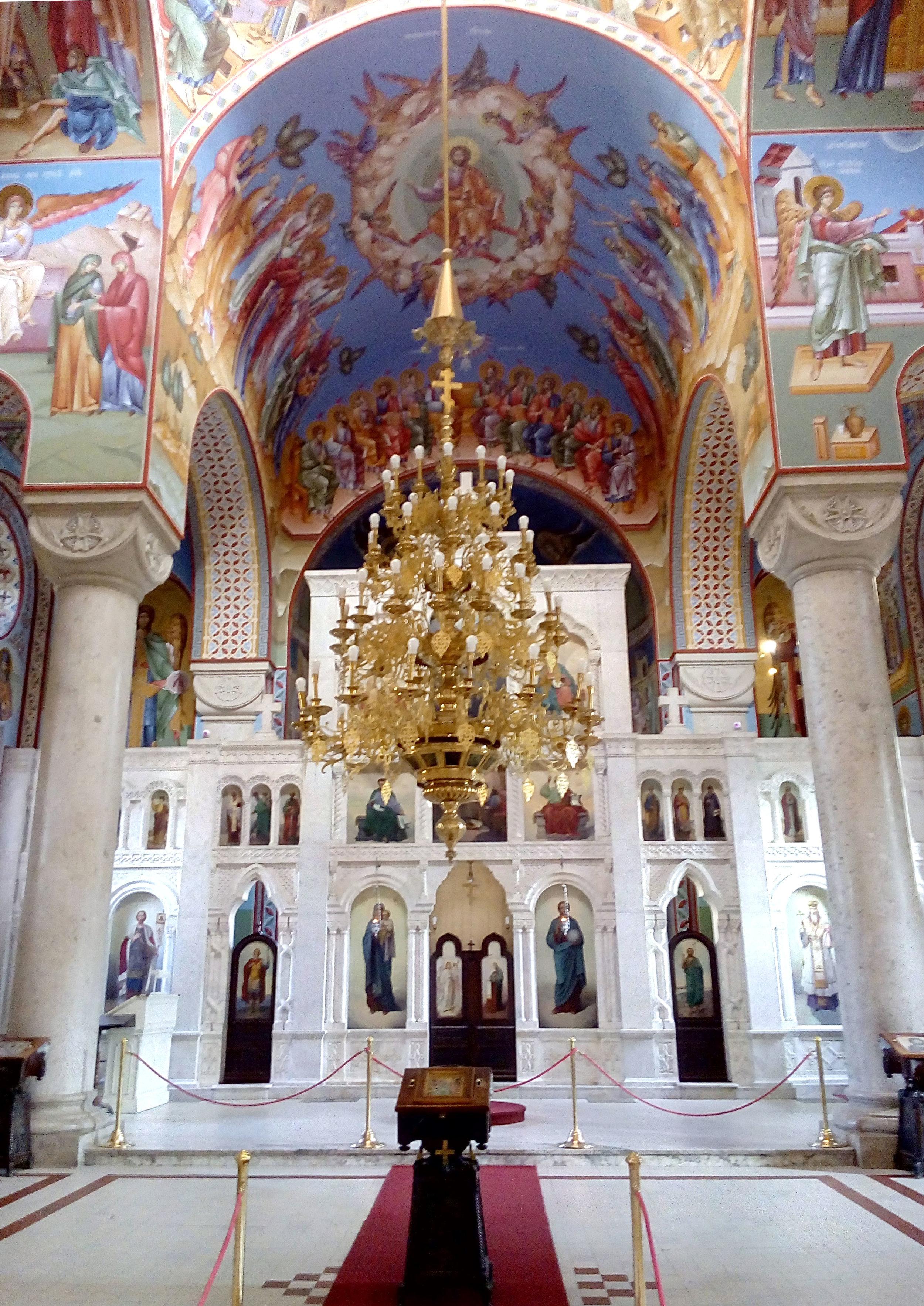 The marble iconostasis