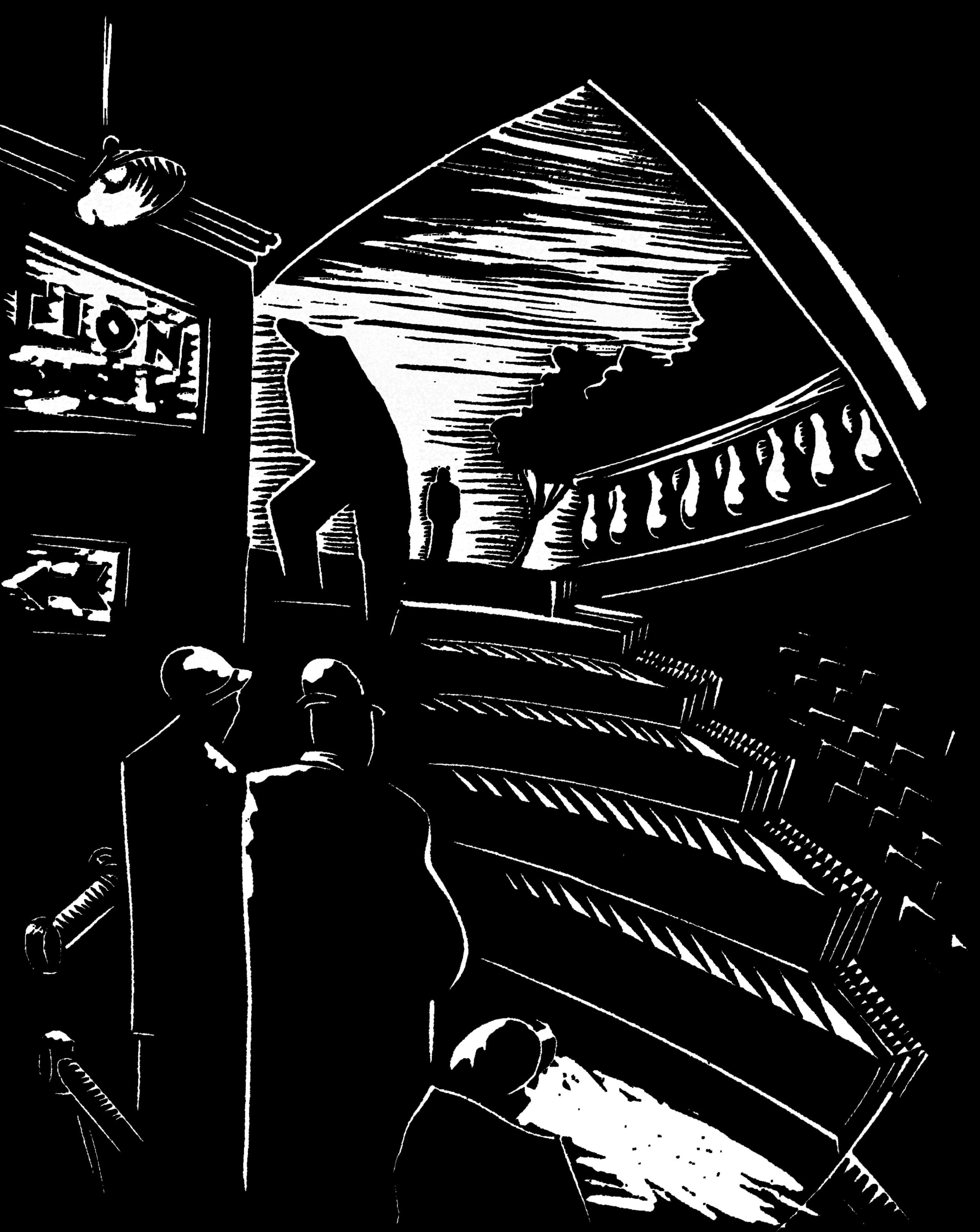 Subway steps linocut.jpg