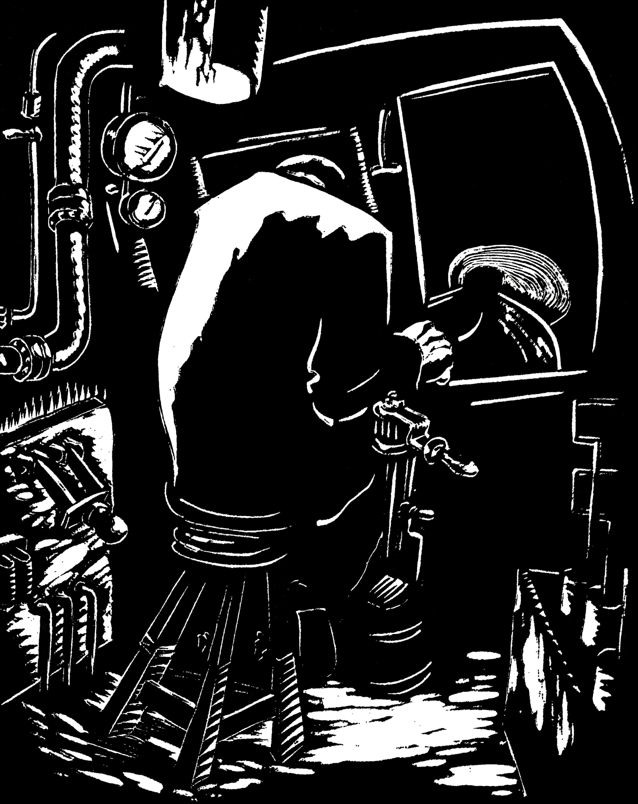 Subway Train Driver linocut.jpg