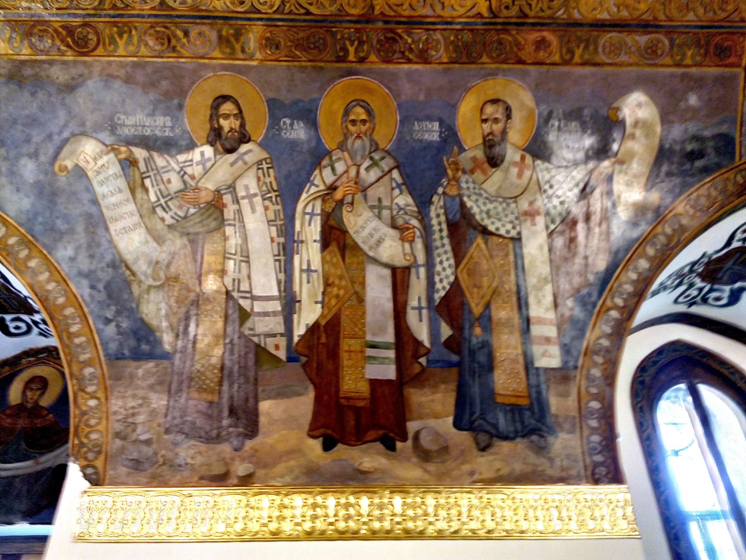 Fresco, Ružica Church