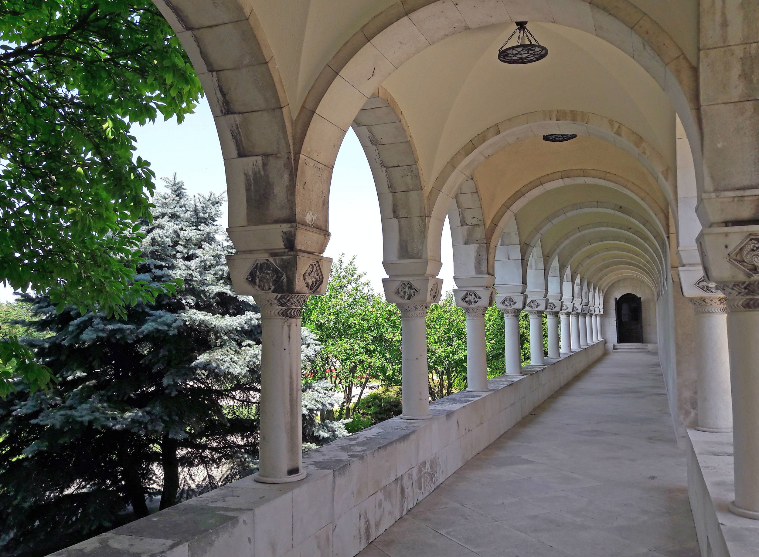 The colonnade of the King's Palace