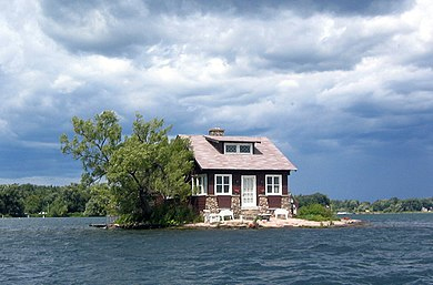 Just Room Enough Island, USA - Wikipedia image