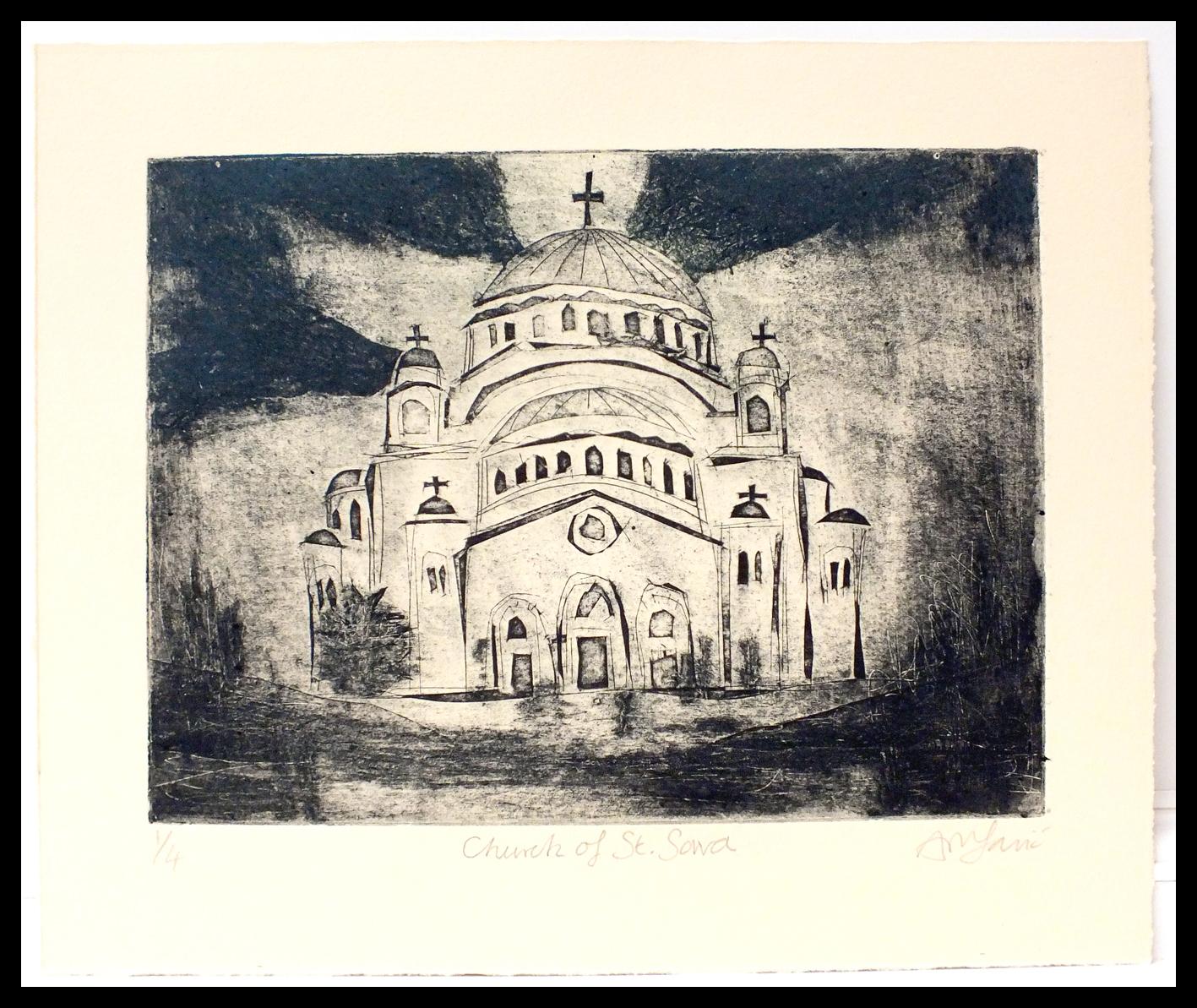 Church of St Sava #1 Framed.jpg