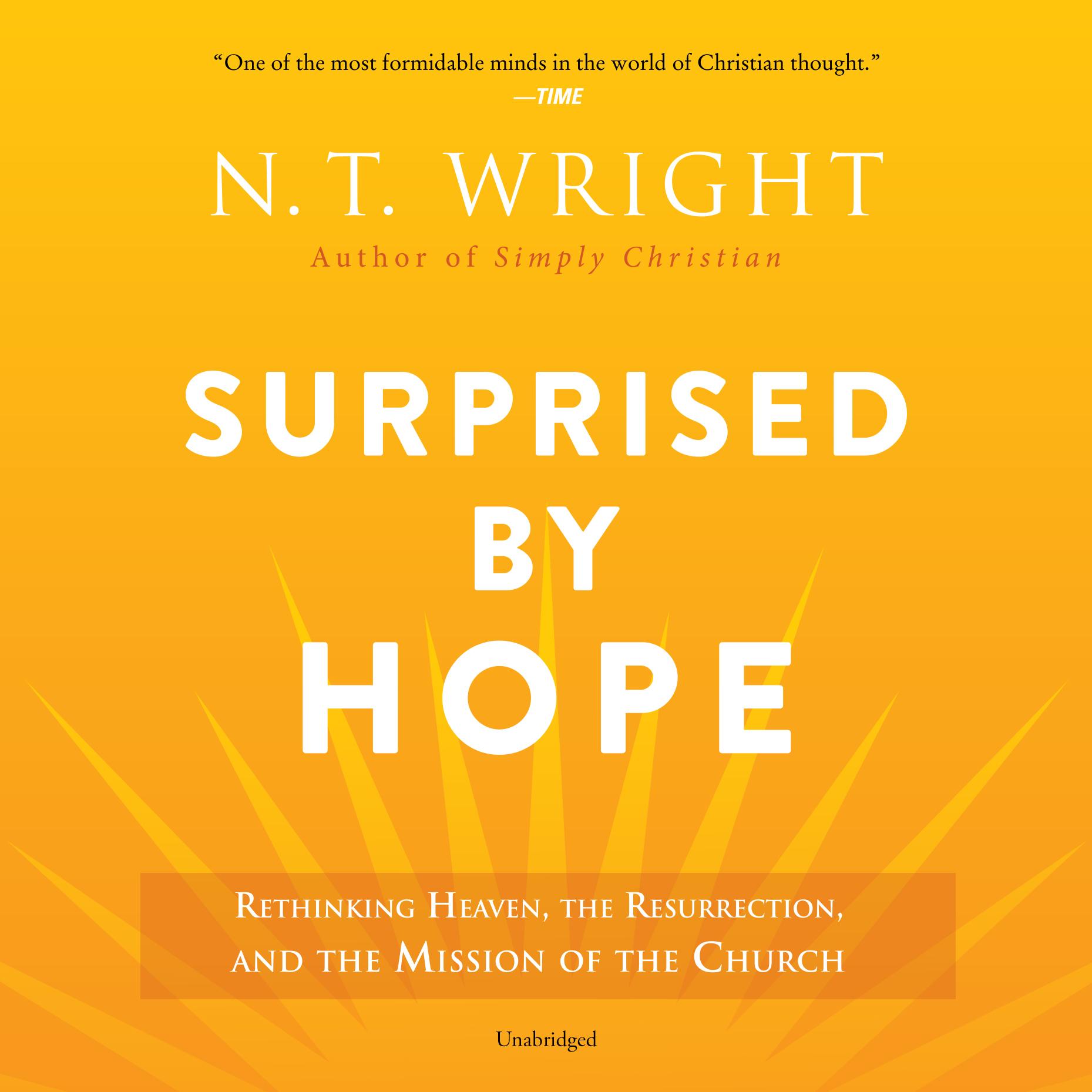 Surprised by Hope -