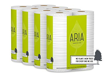 For your tushy & environmental cleanliness, Aria plants 3 new trees for every single tree used.