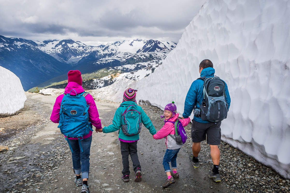 Hiking Whistler - Top 5 fathers day ideas Whistler